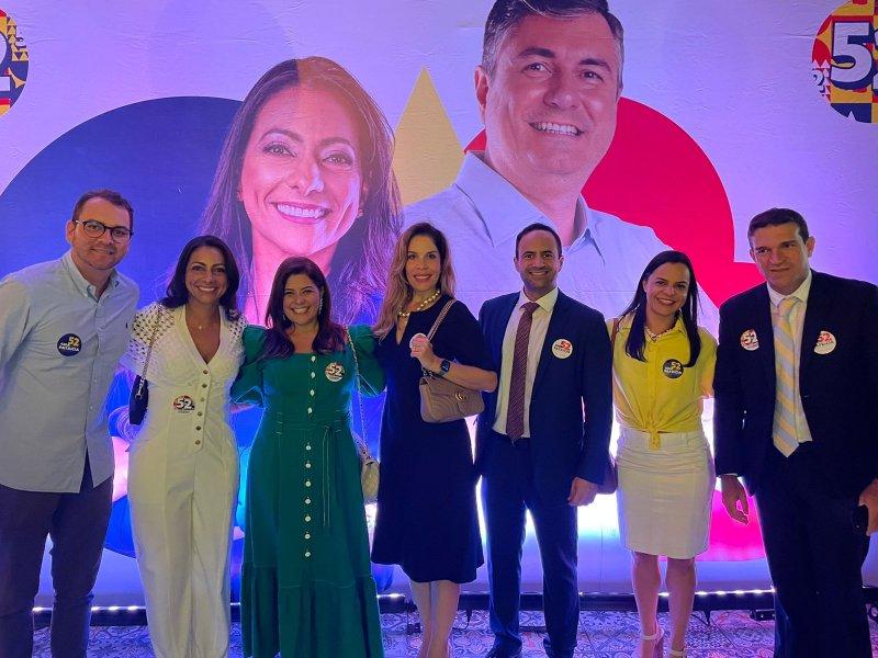 Ana Patrícia registra chapa na OAB e inaugura comitê no Rio Vermelho